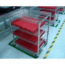 Ajustable NSF Hospital Drugstore Display Almacenamiento Bin Rack