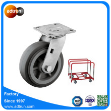 PU Swivel Panel Cart Castor Wheels
