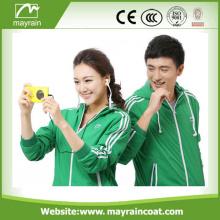 Hooded Waterproof Jacket Soft Women Sportswear