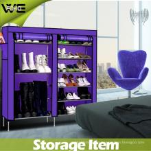 Cabinet moderne d'organisateur de stockage de chaussure de présentoir de meubles