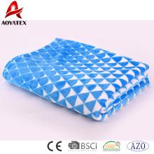 Super soft thick microfiber fleece flannel blanket