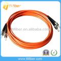 ST / UPC-ST / UPC Multimode Duplex Faseroptik Patchkabel