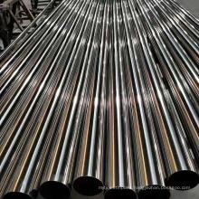 In Stock Original Tisco S30110 12Cr17Ni7 SUS301 1.4319  Stainless Steel Pipe 600 grit 8k mirror brush finish