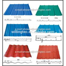 Alibaba China Lieferant Stahl Fliesen Blatt für Dach und Wand