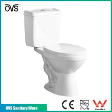 Matériaux céramiques de haute qualité Deux pièces les meilleures toilettes