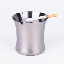 Ashtray Stand Trash Bin /Stainless Steel Portable Ashtray Eco