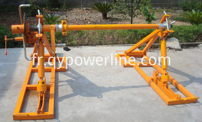 Braking Type Electrical Wire Reel Stand