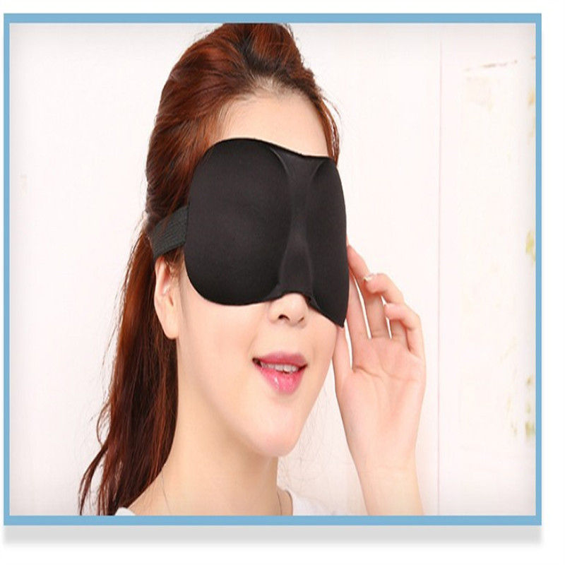 Label sleeping eye mask