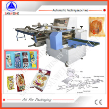 Film Feeding From Below Type Ice Lolly Automatic Horizontal Flow Packing Machine