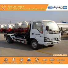 Japan technology 4x2 4M3 hosit arm garbage truck