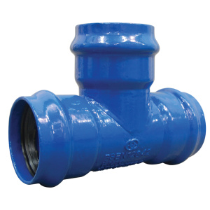 PVC Ductile Iron Flexible All Socket Tee
