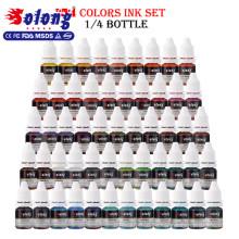 Für Körper Kunst Solong Tattoo Ink TI302-8-54 Organische Pigmente Augenbrauen Tattoo Ink