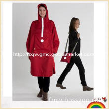 Light packable foldable raincoat poncho