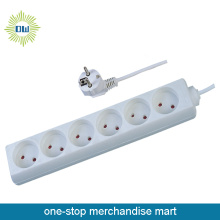 12V 6 Outlet Power Strip with USB