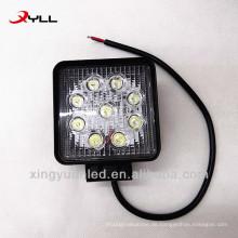 Langlebige 27W LED-Arbeitsscheinwerfer für LKW, Offroad-LED-Scheinwerferlicht
