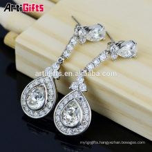 Free Women New Fashion Classic Style Water Drop shape Bridal Earrings