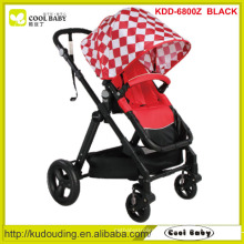 Carrinho de bebê de algodão, rodas de carrinho de bebê boneca, carrinho de bebê com rodas grandes