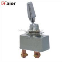 R13-401-101 50A SPST 2 Pin Heavy Duty Bascule Couvre Chrome
