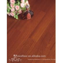 Plancher en bois multicouches en teck Burma Pomelo Revêtement de sol en bois massif multicouches