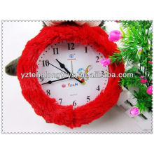 Lovely And Cute Cartoon Colorful Soft Peluche Clock Cover Toys