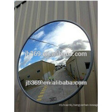 Portable convex rear view mirror