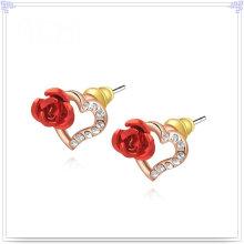 Кристалл ювелирные изделия Модные аксессуары Сплав серьги (AE165)