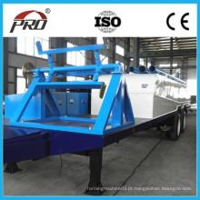 1000-610 Máquina de formação de rolo de extensão longa e adequada / Máquina de telhado arqueada profissional