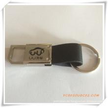 Werbegeschenk Metall Schlüsselanhänger mit Logo (PG03101)