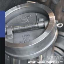 ПТФЭ/уплотнения NBR/EPDM/витон сиденье двойной задерживающий Клапан вафли плиты
