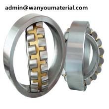 Roulement à rouleaux sphérique de double rangée d'incidence d'acier de dimension d'OIN