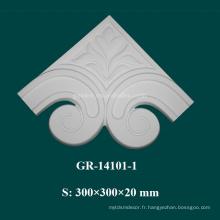Article d'intérieur Accessoires de coin décoratifs modernes en polyuréthane