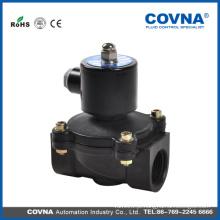 Água de diafragma de levantamento direta de plástico 2W 220V 230V 24v solenóide válvula