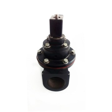 Right angle solenoid valve
