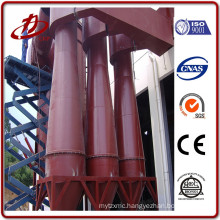 Steel material dust multi cyclone collector