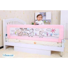 Crib Portable Bed Rails With Woven Net 100cm , Bed Guard Ra