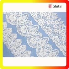 OEM/ODM for Garment Lace Fabric High quality white chemical lace supply to Portugal Exporter