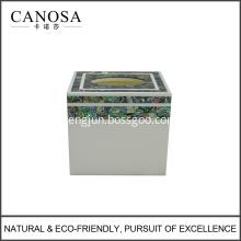 Wholesale Facial Tissue Box Design with Paua Shell