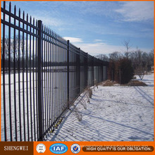 Galvanized Wrought Iron Security Garden Fence Design