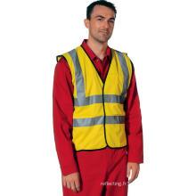 Hi Vis Safety Vest pour les travailleurs portent