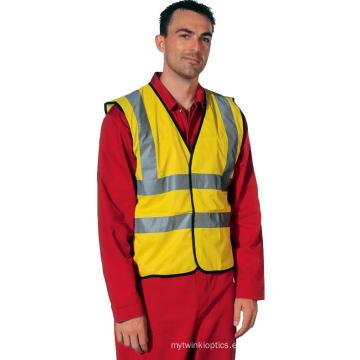 Hola vis chaleco de seguridad para los trabajadores desgaste