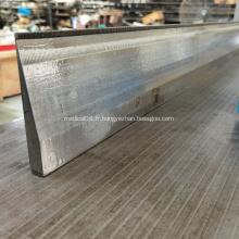 lit d'aiguille de platine de machine à double barre à aiguille