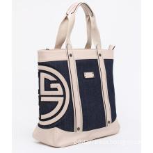 2014 Summer Casual Jeans Lady Fashion Tote Handbag (M9522)