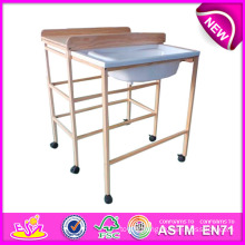 2015 Best Selling Baby Changing Table, Wholesale Baby Furniture Changing Table, Baby Changing Table with Bath Tub W08c080