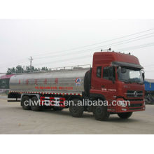 Camion de transport Dongfeng 8x4 camion-citernes à lait, camion à lait 22m3