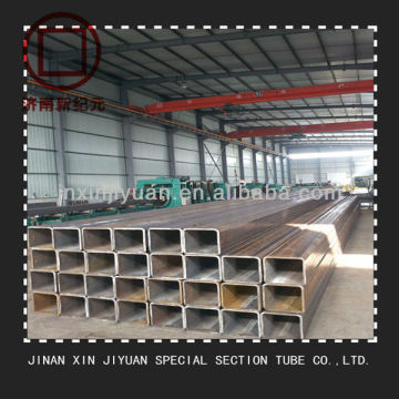 ASTM A53 Black Rectangular Hollow Section Steel Tube