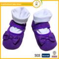 2015Hot Verkauf Baby Prinzessin Schuhe mit bowknot / Mode Babys Klett Tuch erste Wanderer