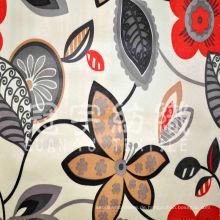 Micro Wildleder bedrucktes Polyester Nubukleder Sofa Stoff
