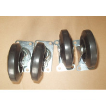 "Industrial Rubber 4"", 5"" 6"" 8"" Castors"