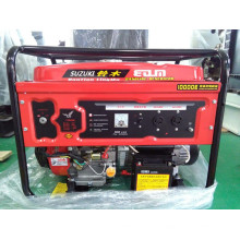 5000W Suzuki Gasoline Generator with easy move