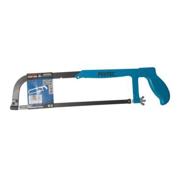 "FIXTEC hand tools  12""  460g flat iron  coating  hacksaw frame"